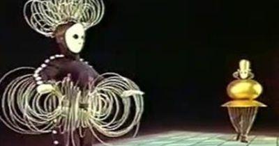 Tanz trifft Geometrie in diesem deutschen Ballett aus den 1920ern