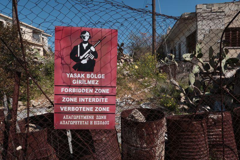 Es ist absolut verboten diesen Mediterranen Badeort zu betreten