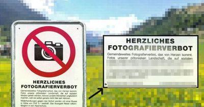Dieser Schweizer Ort hat gerade das Fotografieren verboten